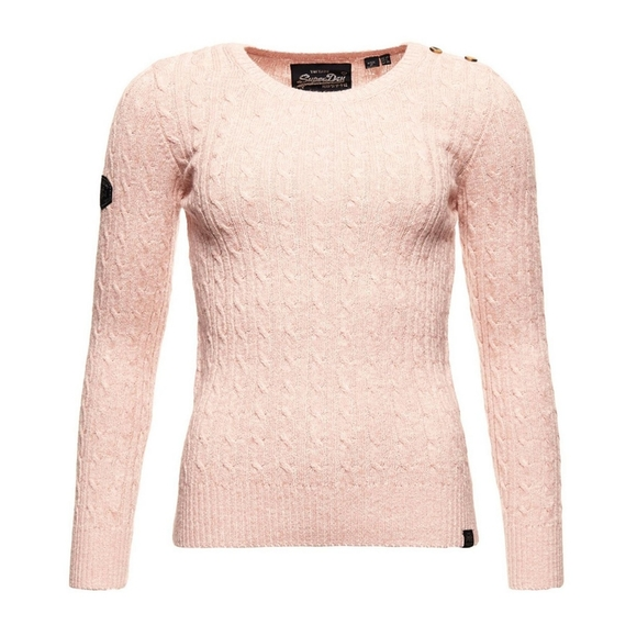 Superdry Sweaters - Superdry Croyde Cable Knit Sweater
